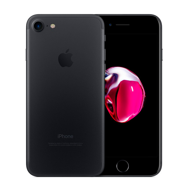 Smartphone Apple iPhone 7 32GB Preto Mate - Recondicionado