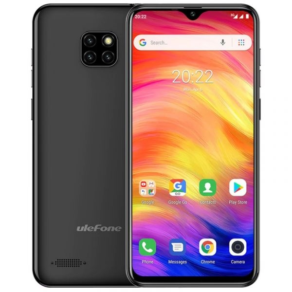Ulefone Note 7 1GB/16GB Preto